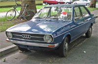 Audi 80 uit de jaren 