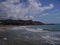 Vakantie aan het strand in Spanje